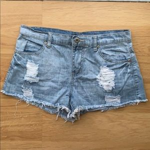 Women's Forever 21 Distressed Shorts Size 25